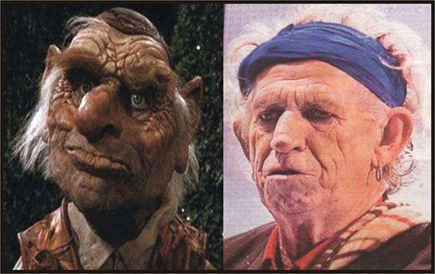 35 Funny Memes and Random Pics to Fuel Your Humor ~ Keith Richards look alike Rolling Stones