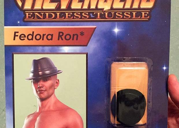 31 Hilarious Fake Toys Planted in Stores ~ revengers action figures fedora Ron