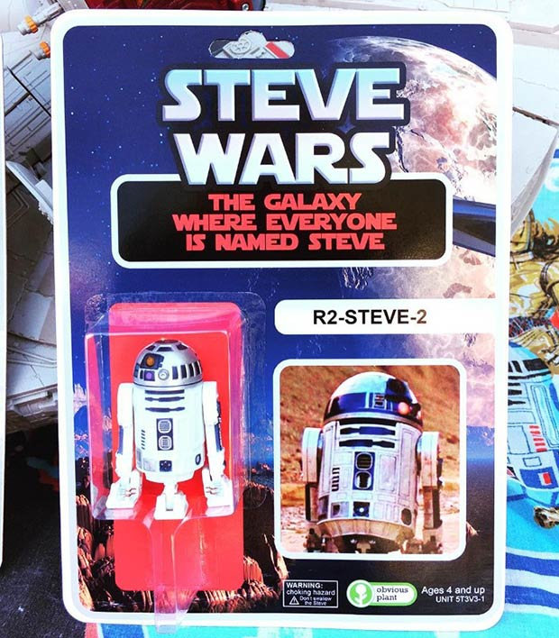 31 Hilarious Fake Toys Planted in Stores ~ Star Wars parody