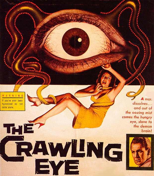 33 Funny Memes and Crazy Pics That'll Tickle Your Soul ~ vintage ad movie poster the crawling eye