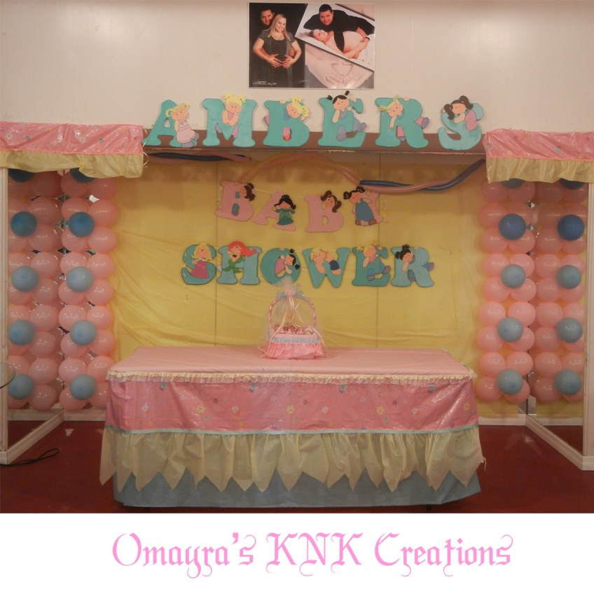 Baby Shower, Party Decoration, KNK