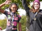Tamia on the junior podium!