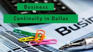 Business Continuity Dallas