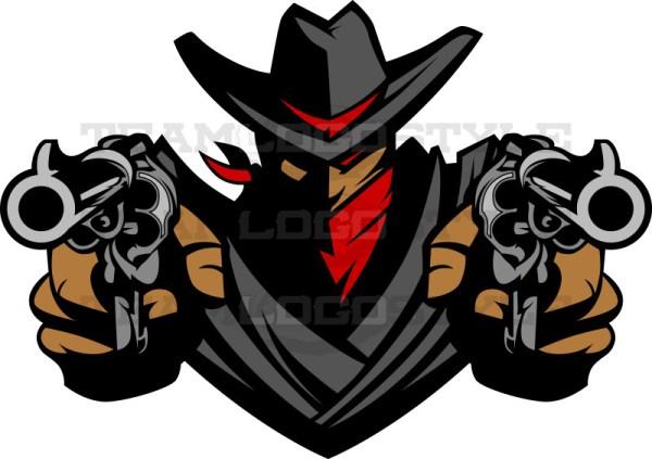 outlaw logo vector clip art outlaw