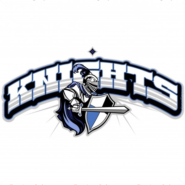 Knights Basketball Clip Art
