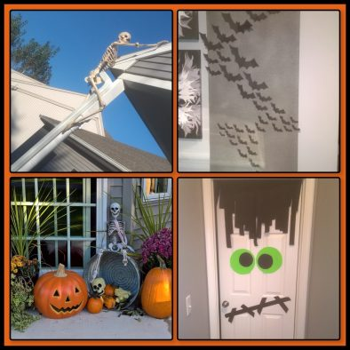 4 ideas for decorating for Halloween