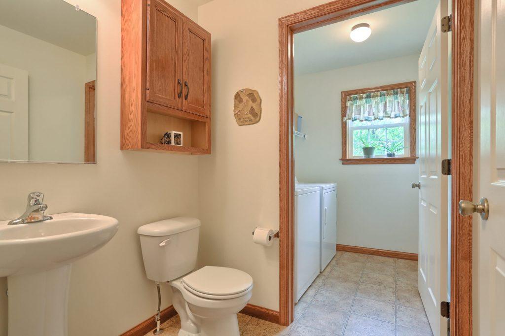 77 Gable Drive - Powder Room/Laundry Room