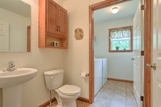 77 Gable Drive - Powder Room/Laundry Room