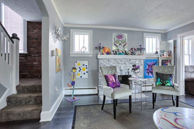 Fireplace - 3700 N. 2nd Street