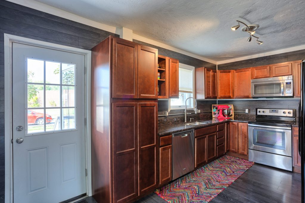 Kitchen and Back Door - 3700 N. 2nd Street