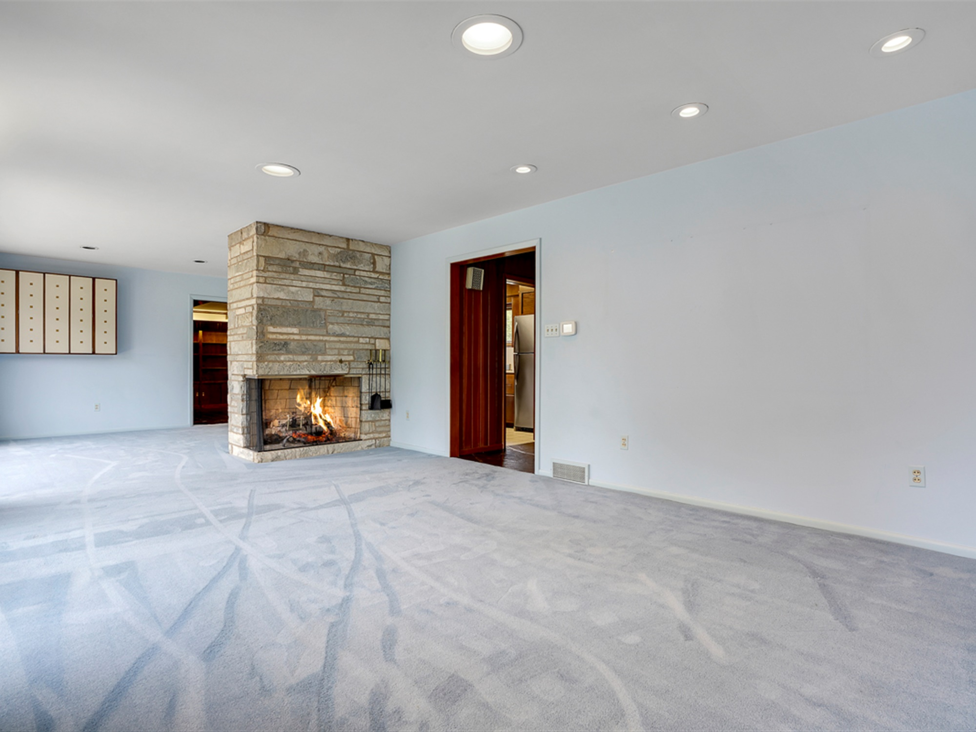 964 Reber St - Living Room with fire place