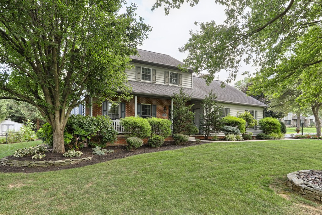Tastefully appointed custom home on .54 acres