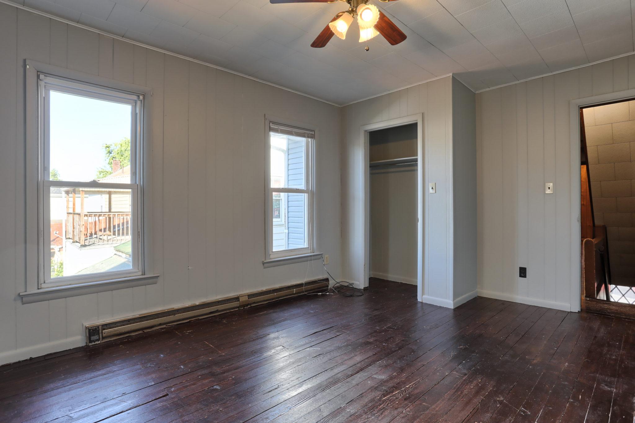 12 E. Maple Avenue - Bedroom 1 (inside view)