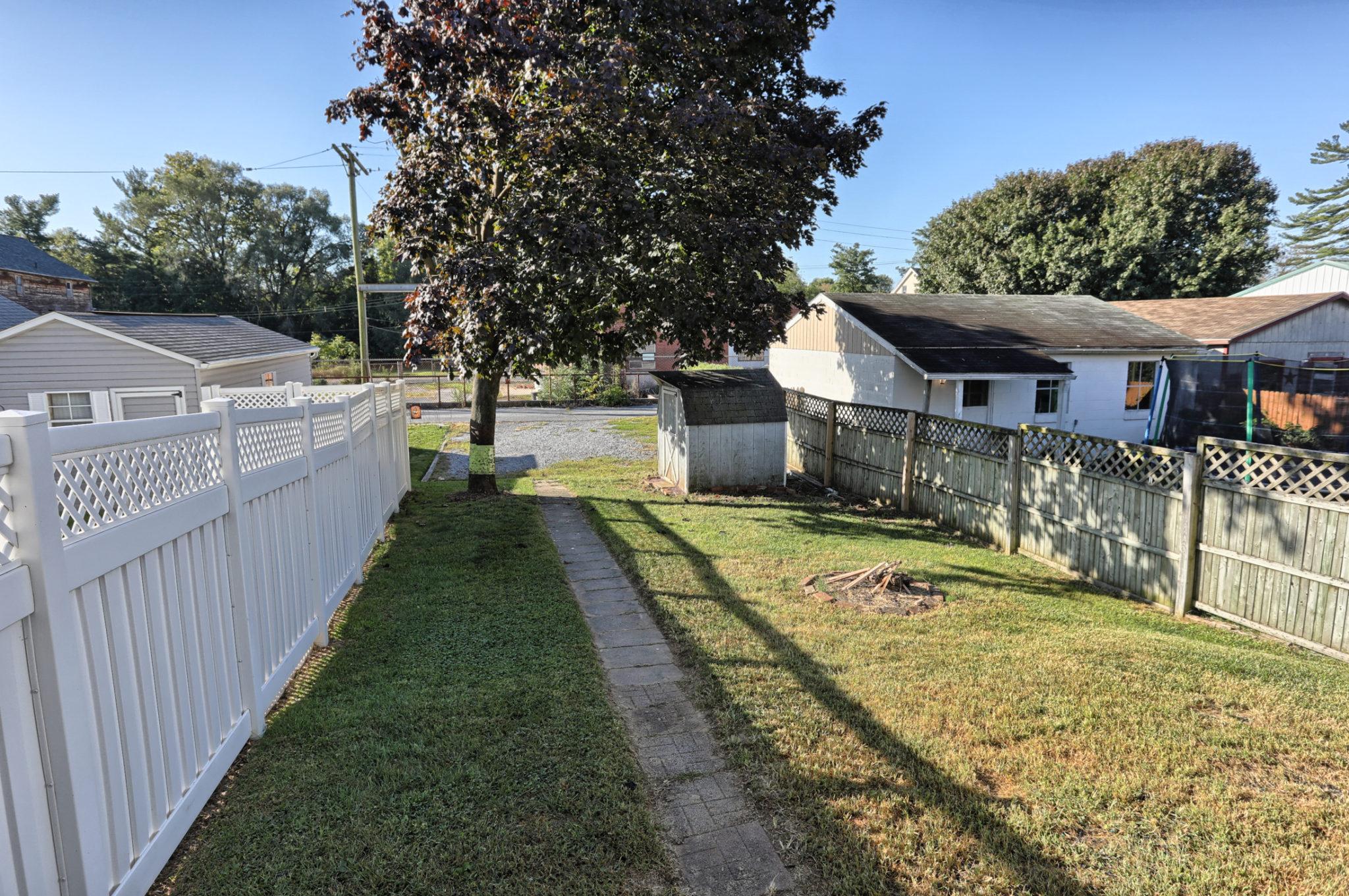 12 E. Maple Avenue - Backyard