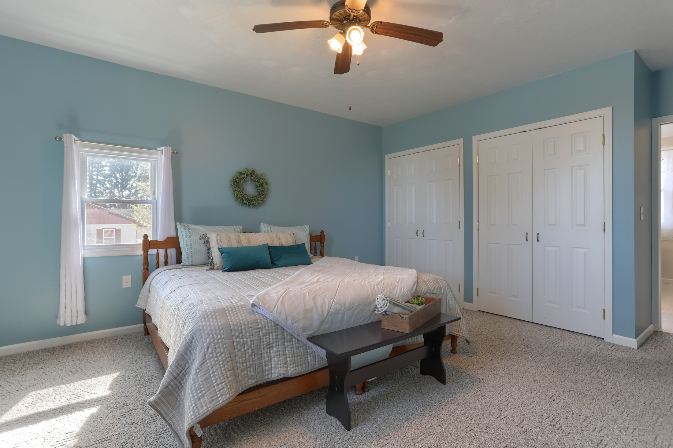285 Strack Drive - Master Bedroom with 2 closets