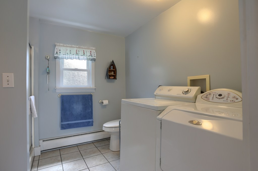 17 E. Hill Street - First Floor Laundry
