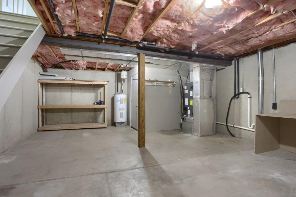 25 Tiffany lane - full basement with laundry area