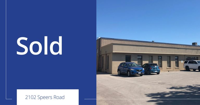 2102 Speers Road - Sold - Colliers