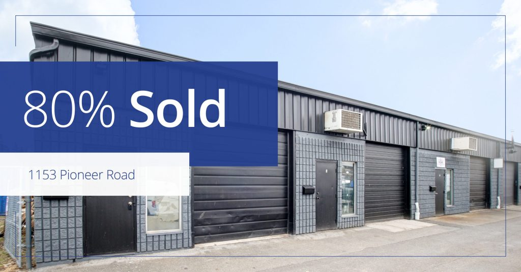 1153 Pioneer Road - Sold - Colliers