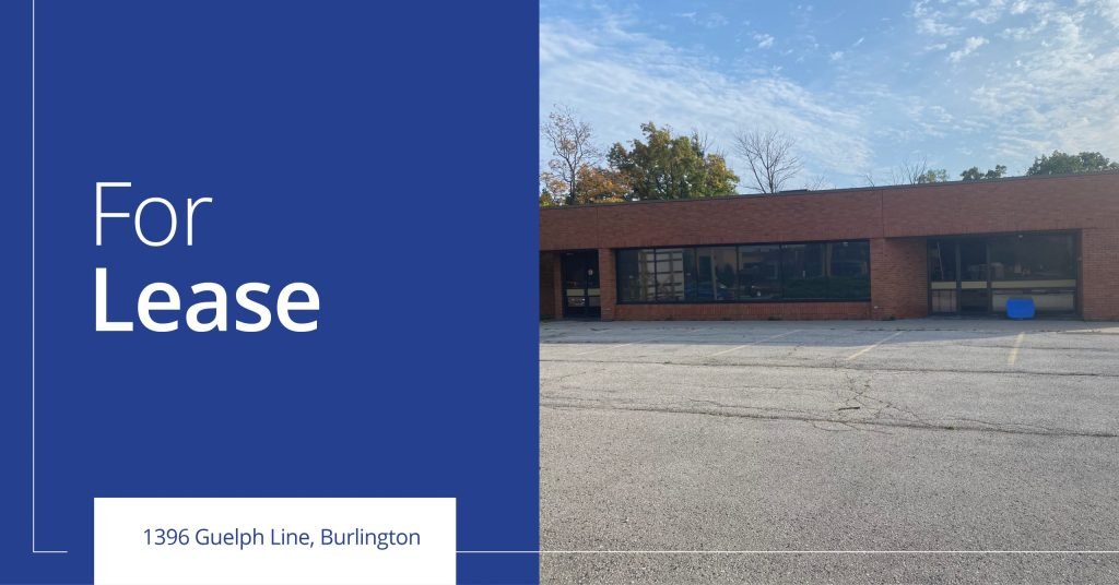1396 Guelph Line - For Lease - Colliers