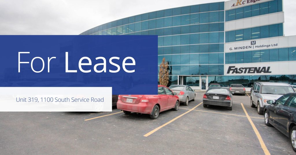 Unit 319, 1100 SSR - For Lease - Colliers