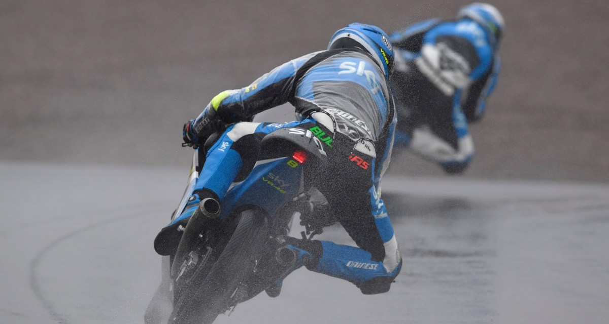 Complicada carrera para el Team Sky Racing VR46