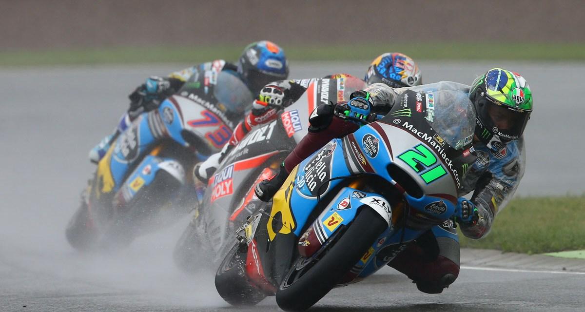 Las malas condiciones terminan con las opciones de podio para Morbidelli y Márquez