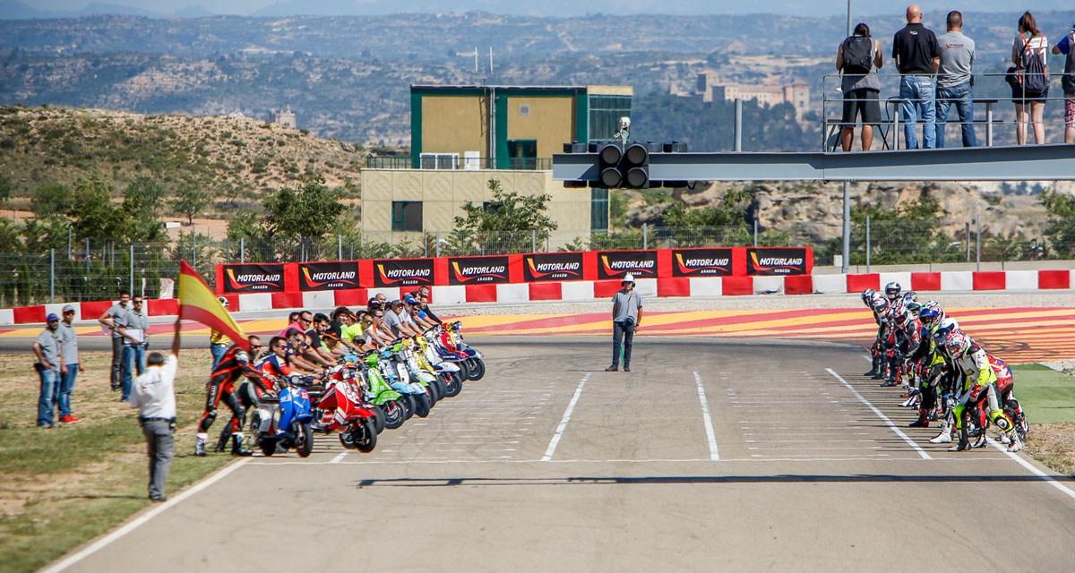 Las Vespas tomarán MotorLand este sábado en la séptima edición de la carrera de 6h