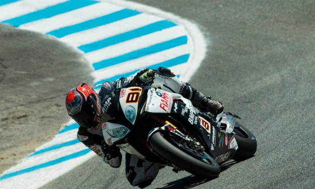 Puntos importantes para Torres en la primera carrera de Superbikes en Laguna Seca