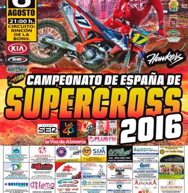 Cuevas del Almanzora, 3ª cita del nacional de Supercross