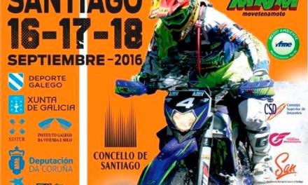 El nacional de Enduro se termina en Santiago de Compostela