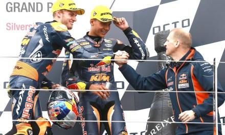 Binder gana en Silverstone, a un paso de ser campeón