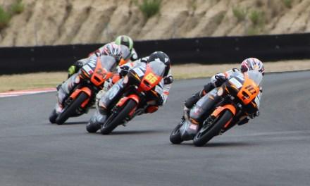 Jerez es la penúltima parada del Nacional de PreMoto4