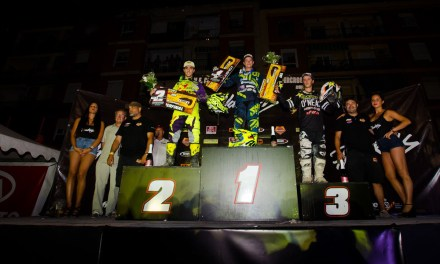 Emocionante final del nacional de Supercross