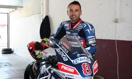 Xavi Forés, Héctor Barberá y Julián Simón entrenan en el Circuito de Albacete