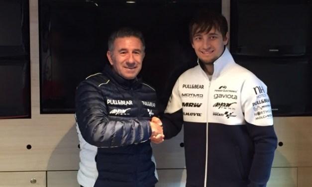 Karel Abraham vuelve a MotoGP con el Aspar Team