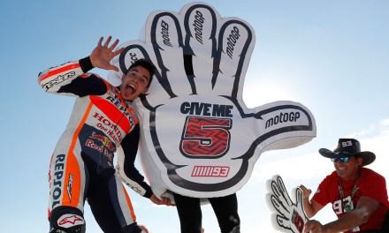 Nuevo podio de Márquez como broche al quinto Mundial