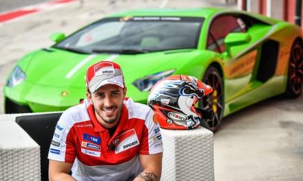 Andrea Dovizioso participará en las Finales Mundiales Lamborghini en el Circuit