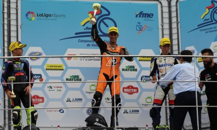 Vicente Pérez sustituirá a John Mcphee en el mundial de MotoGP