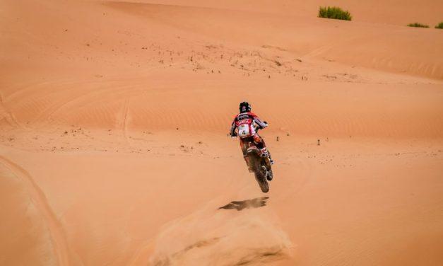 Paulo Gonçalves se queda a un paso del podio en Abu Dabi