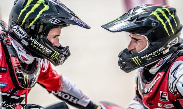 Gonçalves y Benavides, en el podio de la segunda etapa