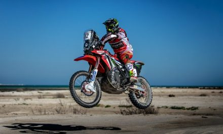 El Monster Energy Honda Team finaliza segundo el Rally de Catar