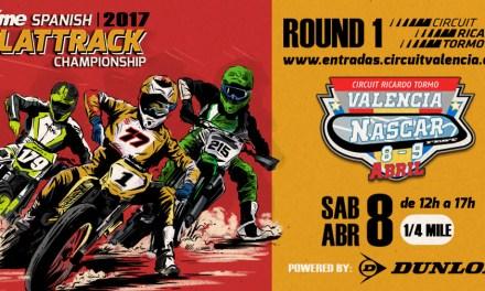 La RFME Copa de España de Flat Track 2017 arranca en Valencia