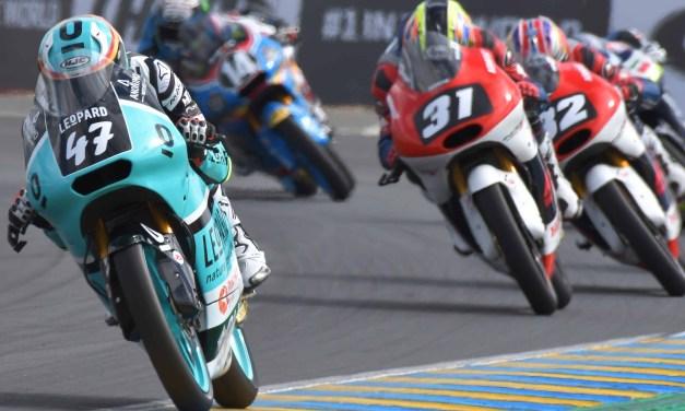 Trabajo sin recompensa para el Leopard Junior Team en Le Mans