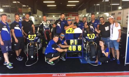 Ángel Rodríguez y el Yamaha Stratos llevan la Yamaha R1M hasta la pole en Montmeló
