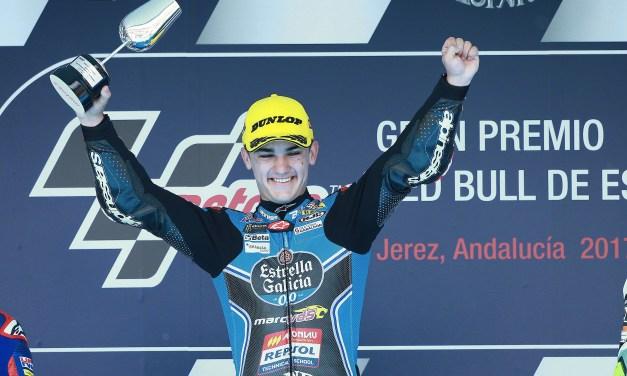Canet estrena su palmarés de victorias en Jerez