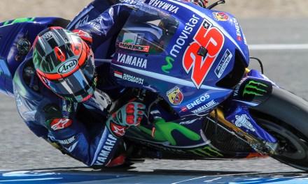 Maverick Viñales el más rápido en los test de Jerez