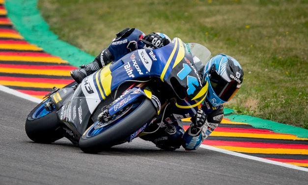 Héctor Garzó brilla en Sachsenring con Tech3
