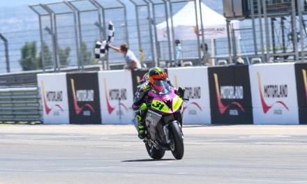 Las futuras promesas del motociclismo brillan en el Nacional de Velocidad en MotorLand Aragón