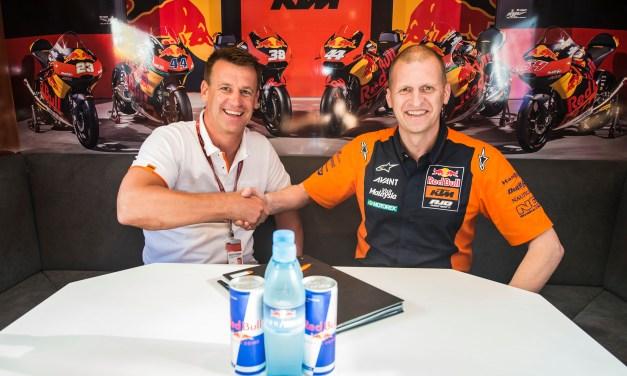 Red Bull KTM Ajo extienden el proyecto de Moto2 por dos años más.
